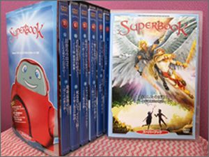 Superbook Season 1 DVD Set (Suupah Bukku Sheezun 1 DVD Setto)