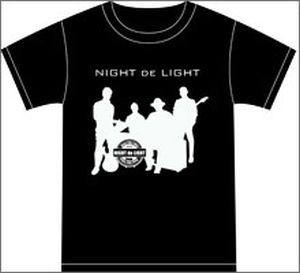 ナイトdeライト Tシャツ ブラック Sサイズ