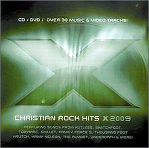 CD X 2009 CHRISTIAN ROCK HITS