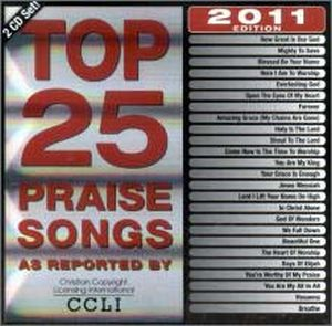 CD TOP 25 PRAISE SONG 2011